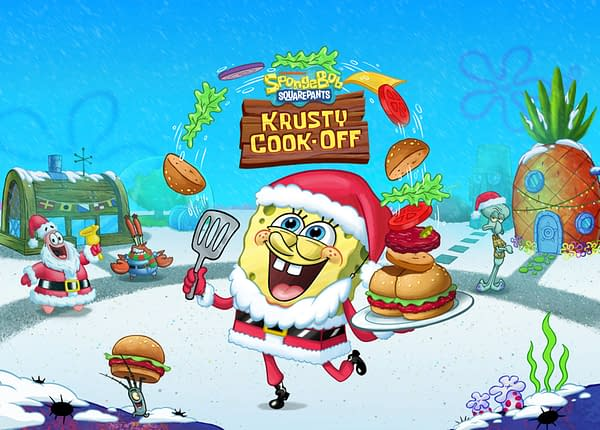 I didn't know Santa Claus had scurvy. Oh, wait, he's a sponge. Courtesy of Tilting Point.