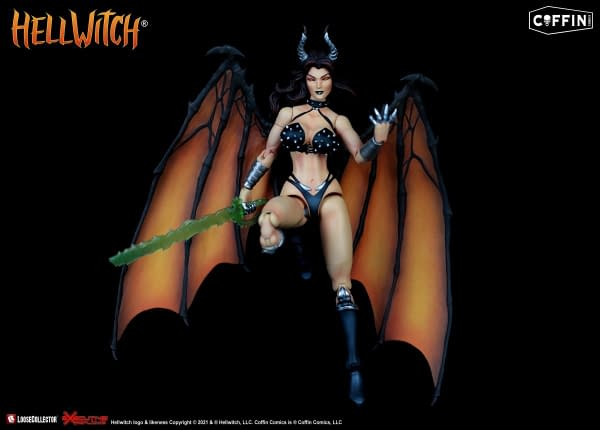 Hellwitch Arises As The New Coffinverse Figure From LooseCollector