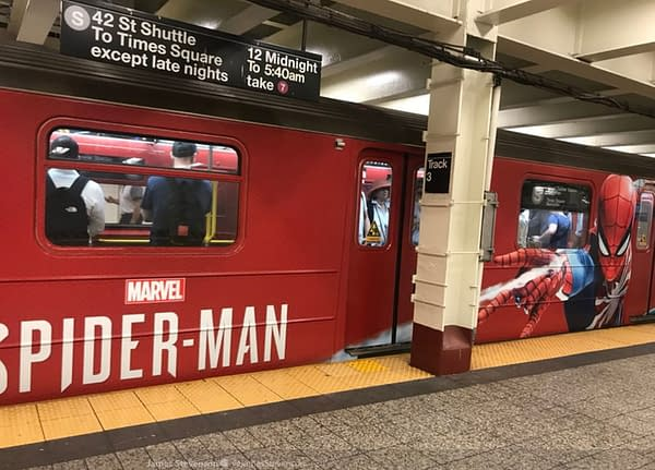 Marvel's Spider-Man Has Invaded the New York City Subway System