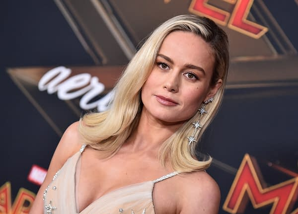 """The Marvel's Star Brie Larson Teases """"A Lot Of Juicy Things Happening"""""""