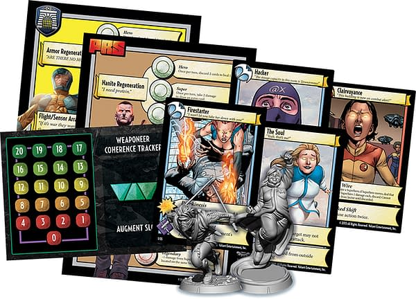 Valiant Universe Deckbuilding Game Added to Unrivaled Tabletop Game Tournament