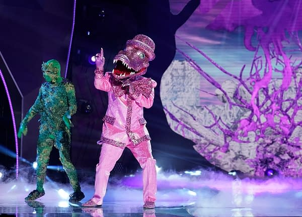 THE MASKED SINGER: Crocodile in the