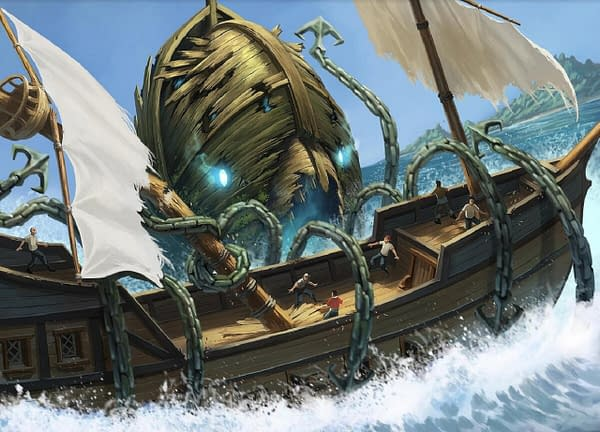 Featured artwork for Animal Adventures: The Faraway Sea, by Steamforged Games and Painting Polygons.