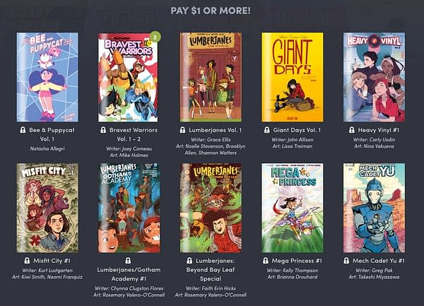 Lumberjanes and More BOOM! Digital Comics Featured in the Latest Humble Bundle