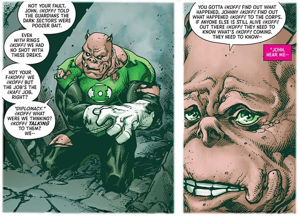Green Lanterns Lose Their Rings - For Decades - In DC Future State