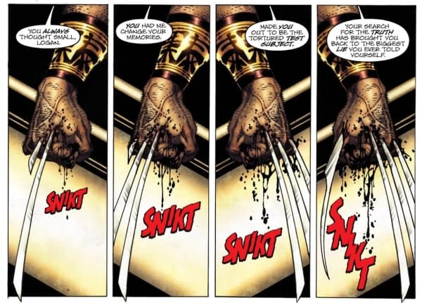 Big Massive Retcon Spoilers For Today's Wolverine. We're Not Joking. Turn Away Now.