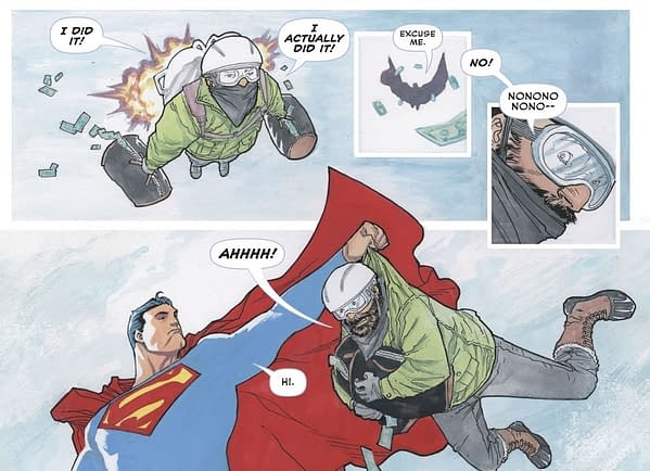 DC Comics Removes Max Landis Superman Story From Holiday Special – Physical and Now Digital