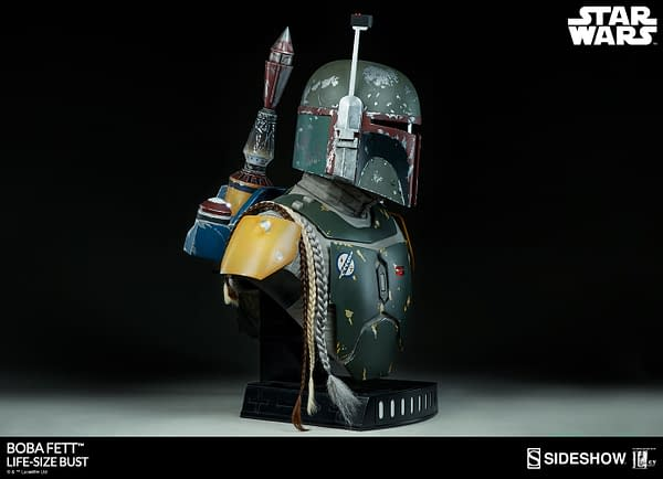 Boba Fett Gets the Life-Size Bust of Our Dreams from Sideshow