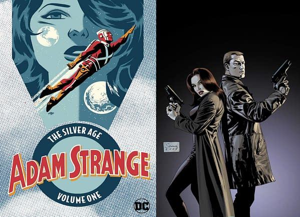 DC Comics Cancels Adam Strange: The Silver Age Vol 1 and Sleeper Book Two