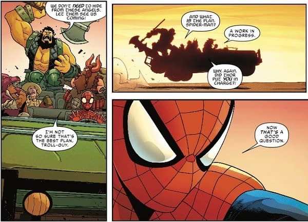 Why Was Spider-Man Put in Charge? Spider-Man and the League of Realms #1 Preview