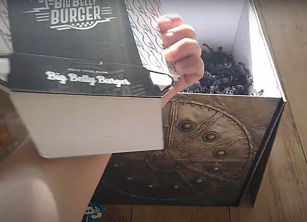 Unboxing Justice League Mother Box After It Sat In The Sun For A Week