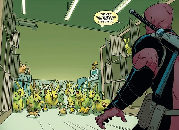X-Men: Bland Design – Deadpool Guest-Stars in All-New Wolverine #31