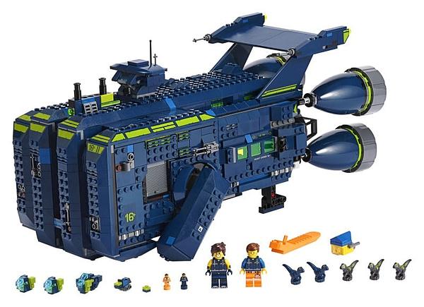 LEGO Movie 2 Rexcelsior Set 2