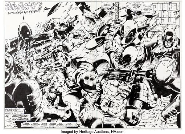 Deadpool Circle Chase Pages On Auction At Heritage Right Now