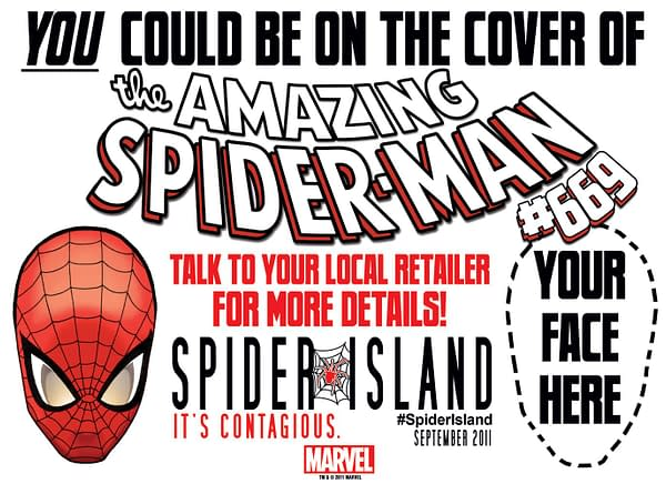 Bleeding Cool Explains How To Get Your Face Onto The Cover Of Amazing Spider-Man 669 (UPDATE)