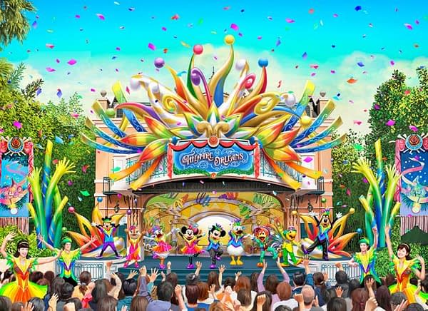 Tokyo Disneyland to Kick Off 35th Anniversary Party this April!