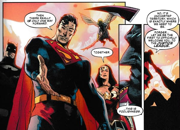 Today, We Welcome a New Member of the Justice League (#25 Spoilers)