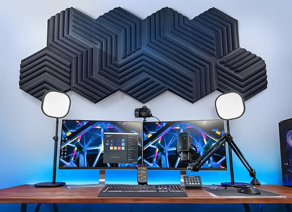 A look at the wave panels for both decoration and sound, courtesy of Elgato.