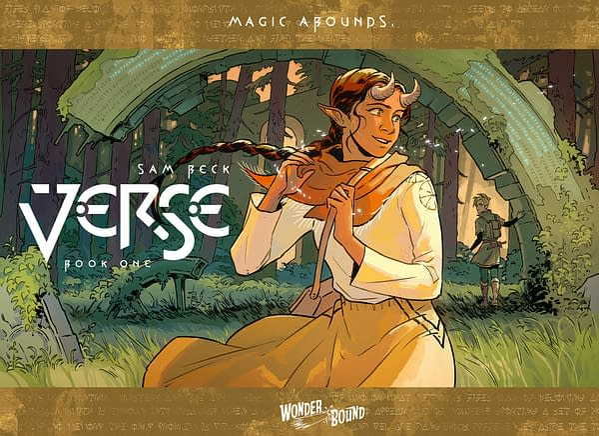 VERSE: Sam Beck's YA Fantasy Graphic Novel Coming from Wonderbound
