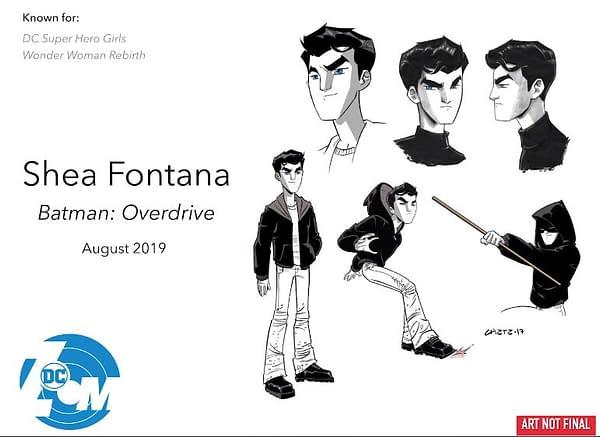 Batman: Overdrive – a Millennial Bruce Wayne by Shea Fontana and Marcelo Di Chiara (UPDATE)