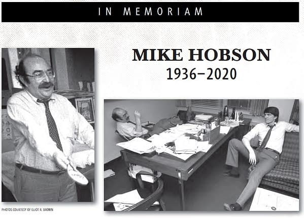 Marvel Comics Pays Tribute To Former Publisher, Mike Hobson
