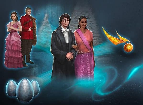 Harry Potter: Wizards Unite 12 Tasks of Christmas promo. Credit: Niantic