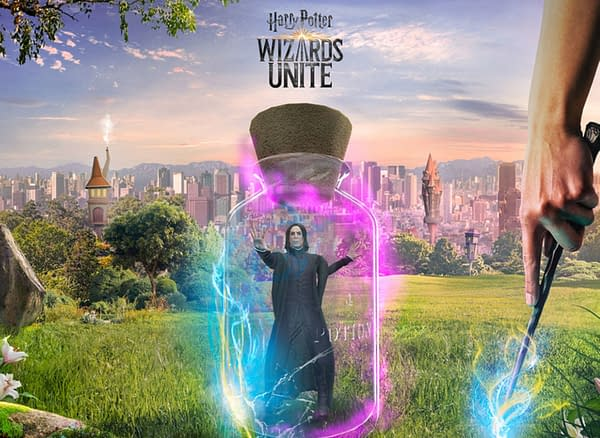 Snape in Harry Potter: Wizards Unite. Credit: Niantic