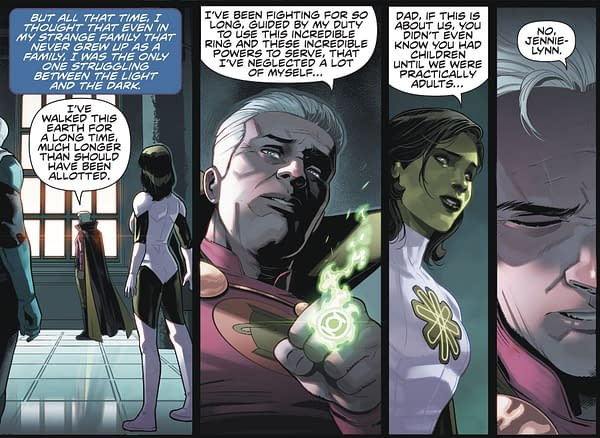 Green Lantern Alan Scott, Gay With Two Kids, In DC Infinite Frontier