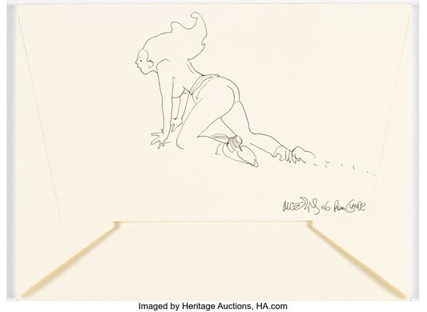 The Tiniest Sketches of Moebius Go For Big Money At Auction