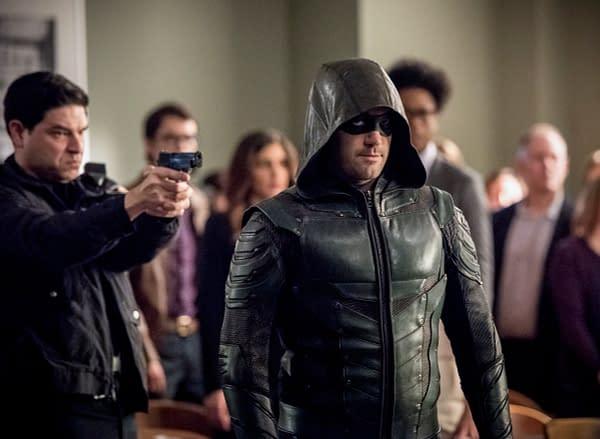 Arrow Season 6: [Spoiler] Talks About His Return Last Night