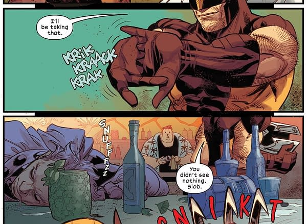Did Wolverine Use Magneto's Helmet As A Urinal?