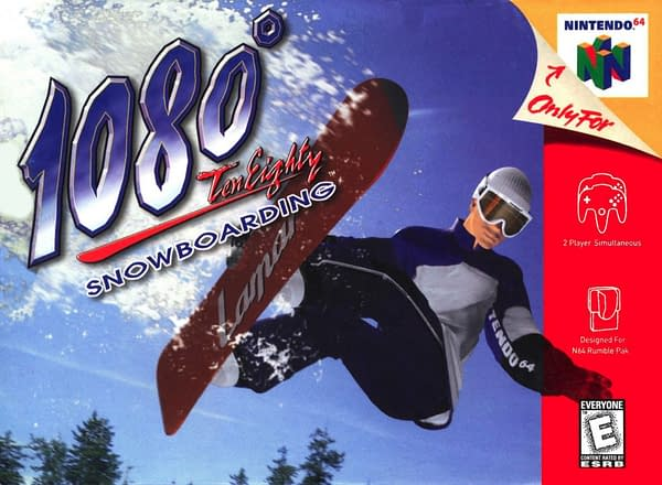 Nintendo Files Trademark on 1080° Snowboarding, Prompting Questions if the Series is Coming Back