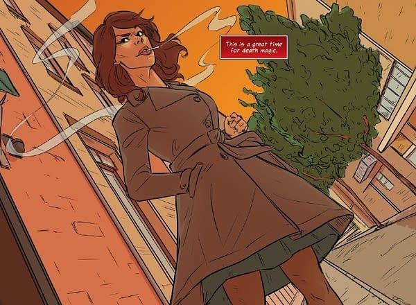 Cigarettes?! In a Comic Book?! A Preview of Sex Death Revolution #1