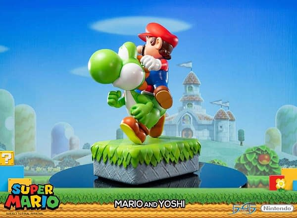 High End Mario and Yoshi Statue Coming in 2020 From First 4 Figures