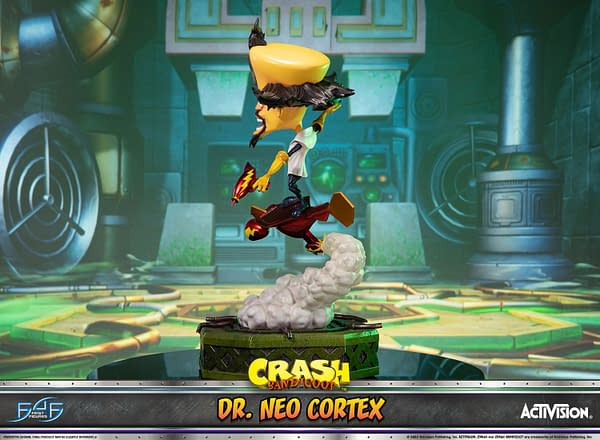 Crash Bandicoot Dr. Cortex Arrives at First 4 Figures