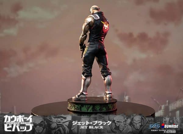 Cowboy Bebop Jet Black Statues Returns to First 4 Figures
