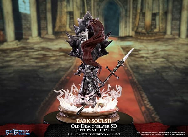 Two New Dark Souls Statues Unveiled by First 4 Figures