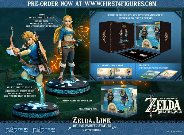 The Legend of Zelda: Breath of the Wild Arrives at First 4 Figures