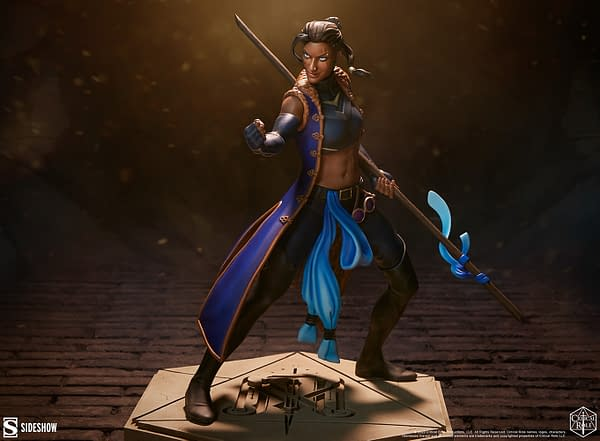 Critical Role Beau The Might Nein Statues Finally Hits Sideshow
