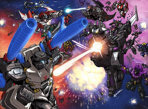 Original Shattered Glass Promotional Image from Botcon 2008