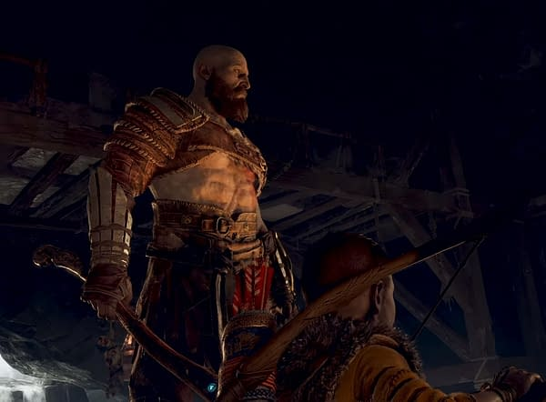 God Of War May Be Losing All Those Fun Sexy Times