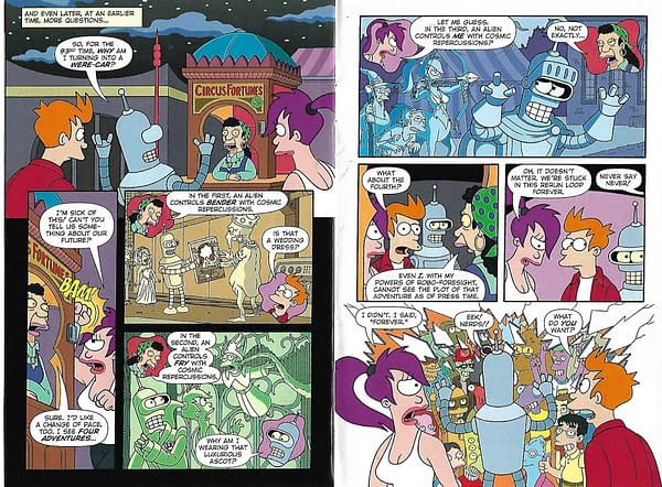 Futurama Returns Page 14 - 15