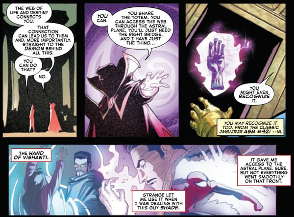 Does Doctor Strange Now Now About One More Day? (Amazing Spider-Man #51 Spoilers)