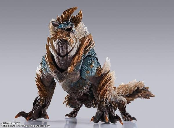 Monster Hunter Thunder Wolf Wyvern Zinogre Hunts at Tamashi Nations