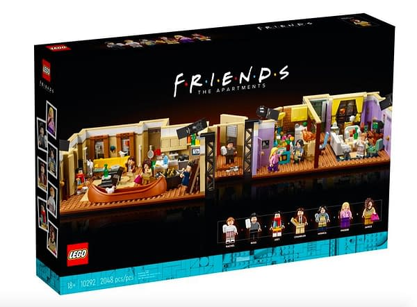 LEGO Reveals New Set As The Friends Apartment Comes To Life
