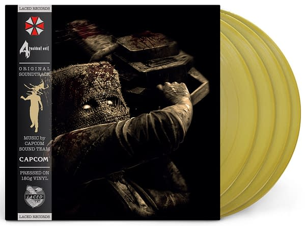 Resident Evil 4 will be getting a 4LP vinyl release, courtesy of Laced Records.