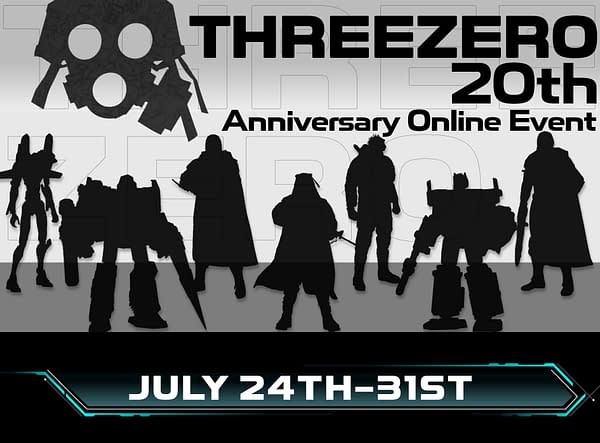 Threezero Teases The Walking Dead and 20th Anniversary Event