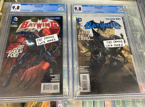 Batwing #19 and #20 Sell For $1000 on eBay After DC Black Batman News