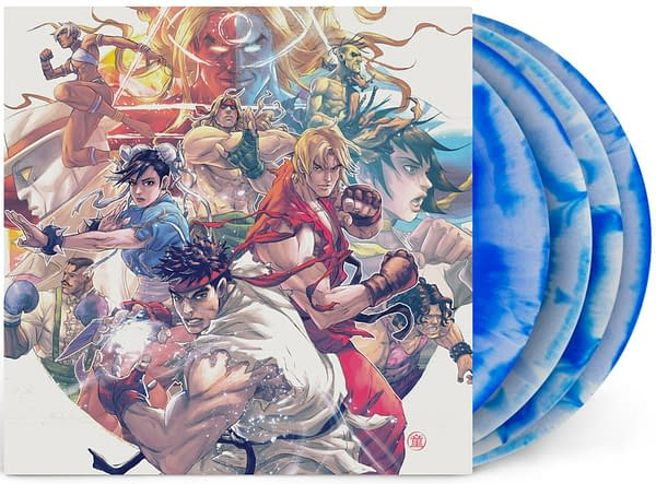 A look at the cover art to the Street Fighter 3 vinyl soundtrack, courtesy of Laced Records.