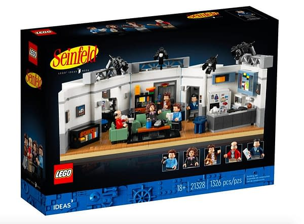 Seinfeld Returns Once Again With LEGO's Newest Ideas Set